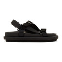 Sacai Black Strap Sandals