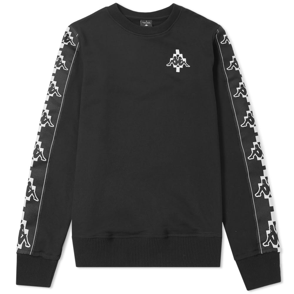 Photo: Marcelo Burlon x Kappa Tape Crew Sweat