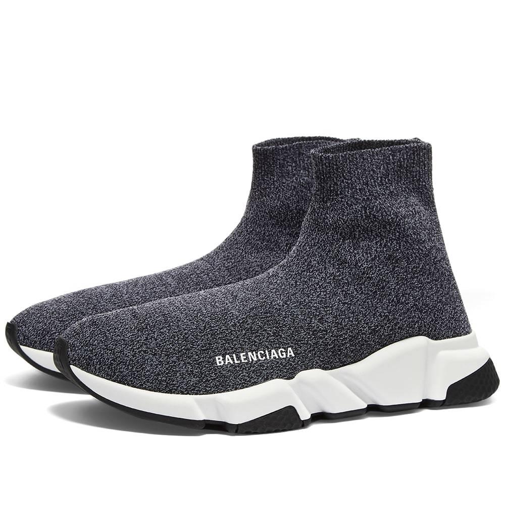 Photo: Balenciaga Speed Sneaker - Mark Knit