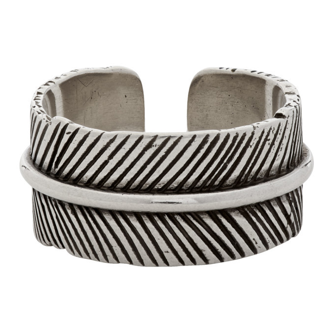 Photo: Isabel Marant Silver Feather Ring