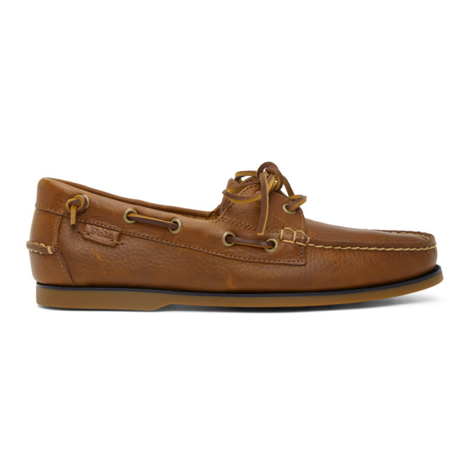 Photo: Polo Ralph Lauren Brown Boat Shoe Loafers