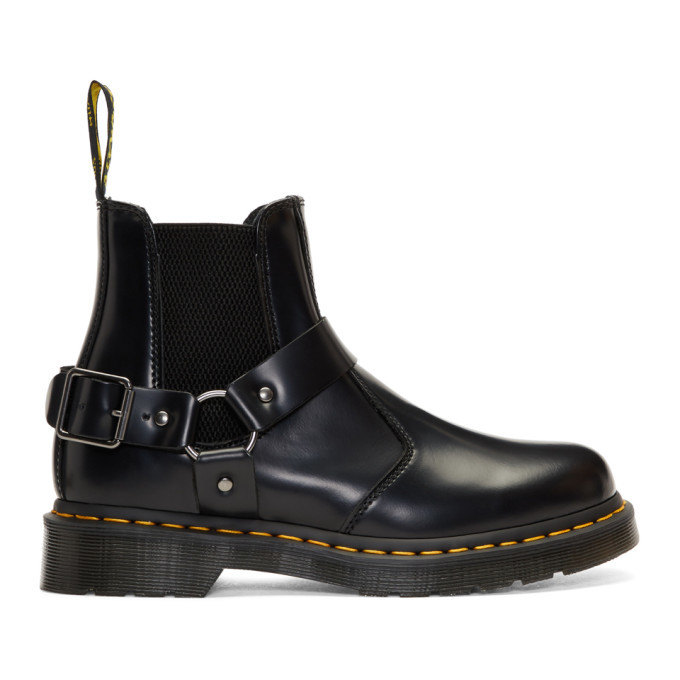 Photo: Dr. Martens Black Wilcox Chelsea Boots
