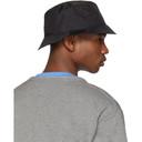 Acne Studios Black Buk Face Tech Bucket Hat