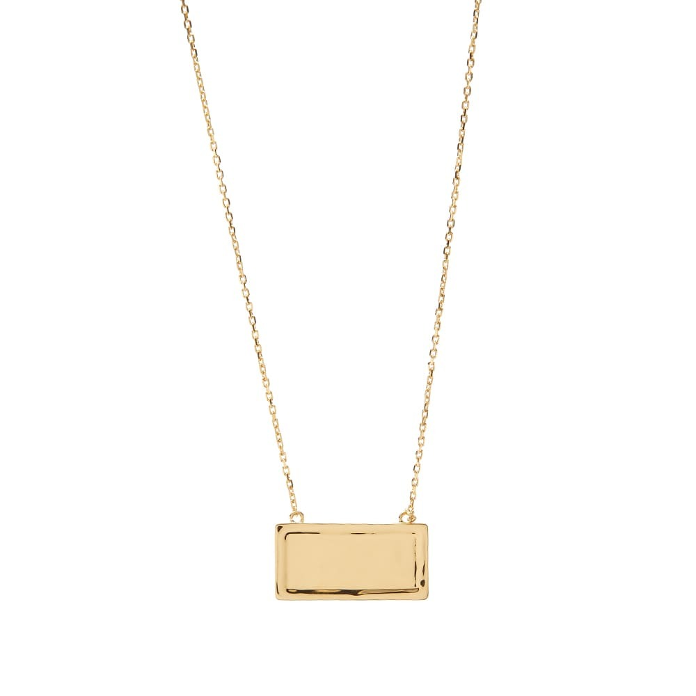 Versace Number Plate Necklace