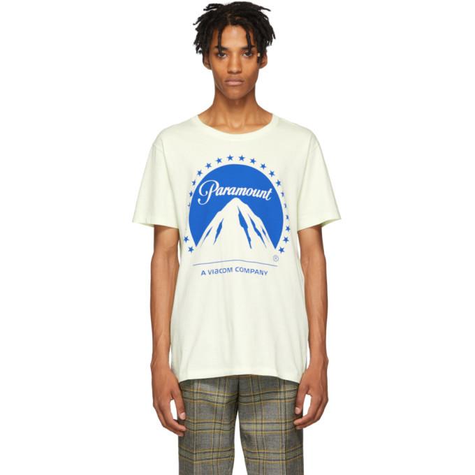 Photo: Gucci White Paramount T-Shirt