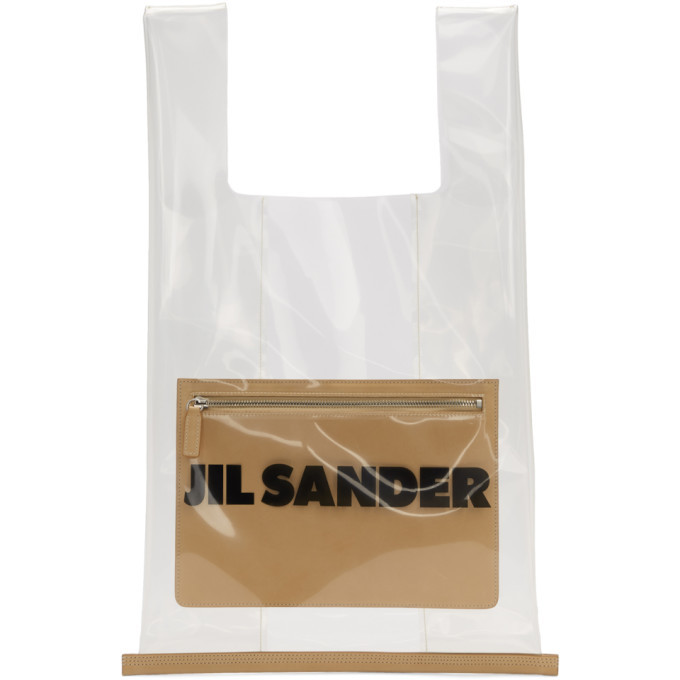 Photo: Jil Sander Transparent PVC Tote