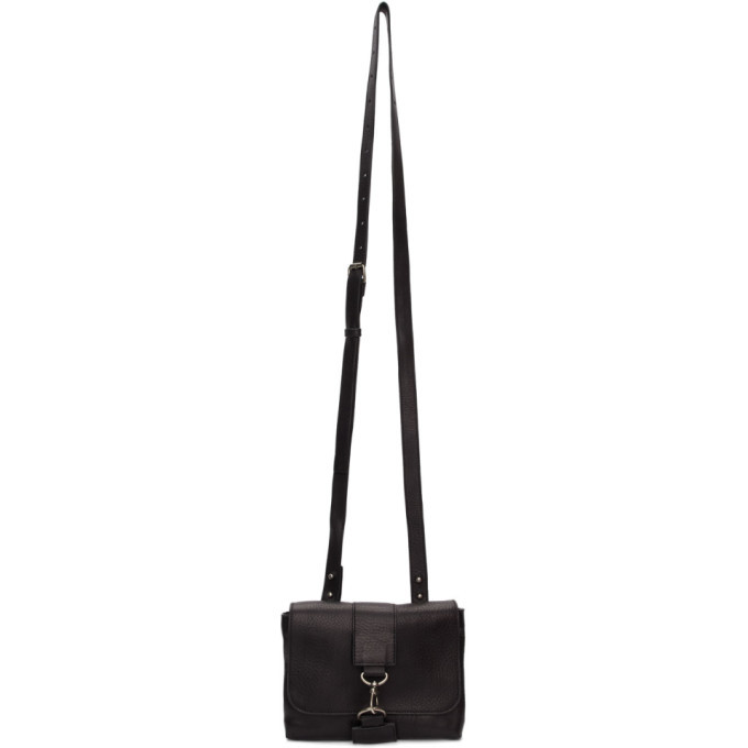 Photo: Ann Demeulemeester Black Andras Messenger Bag