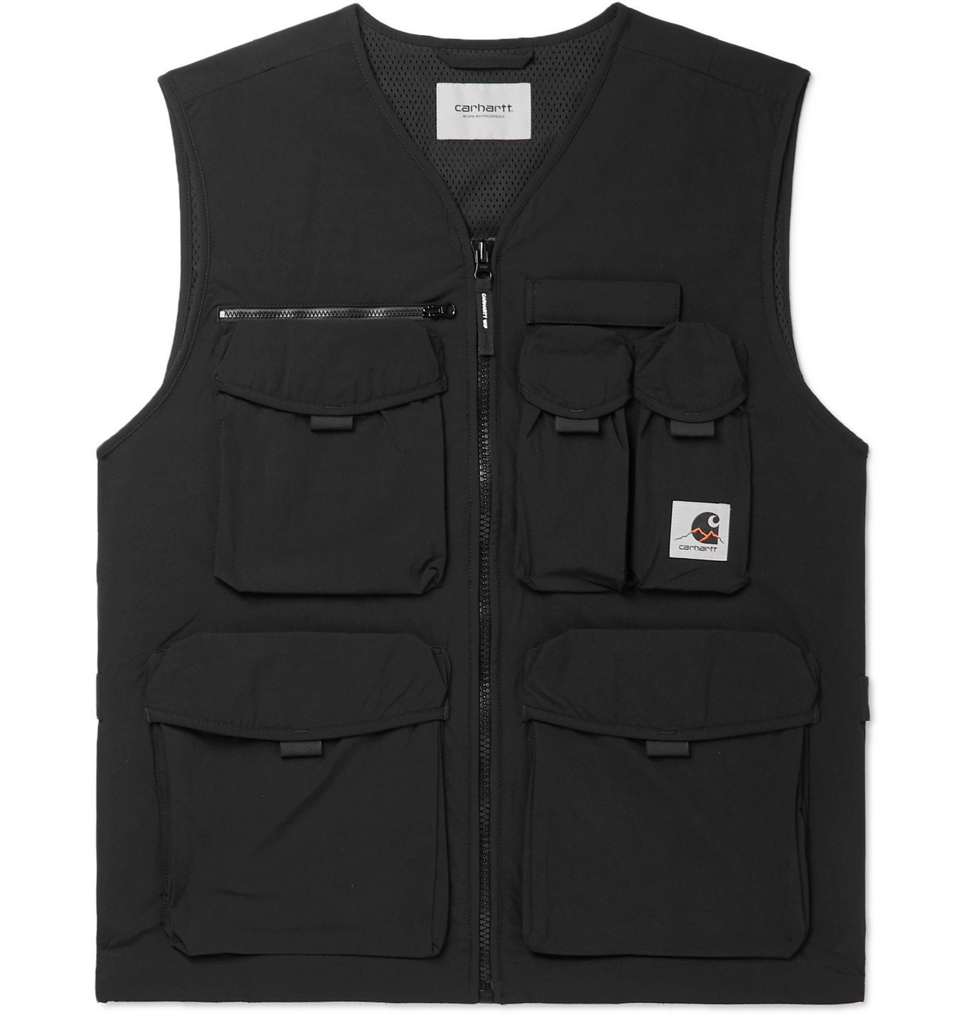 Photo: Carhartt WIP - Hayes Shell Gilet - Black