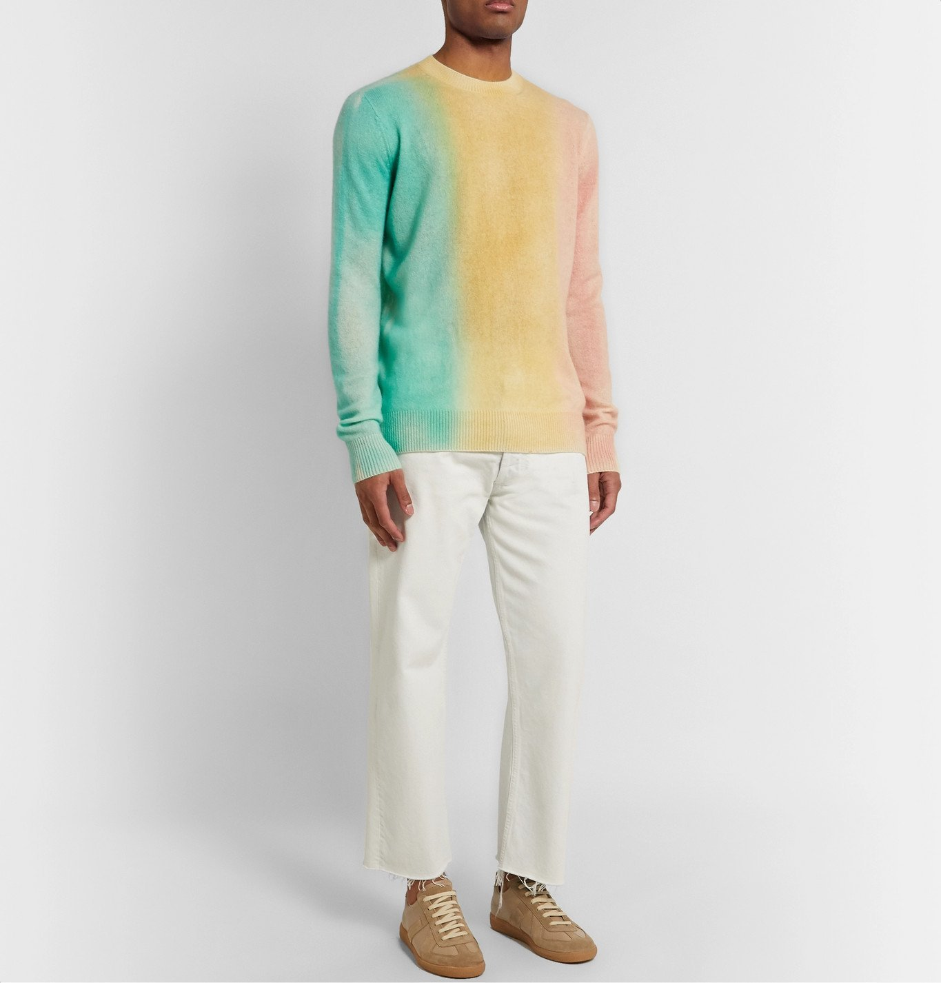 The Elder Statesman - Cashmere Sweater - Multi
