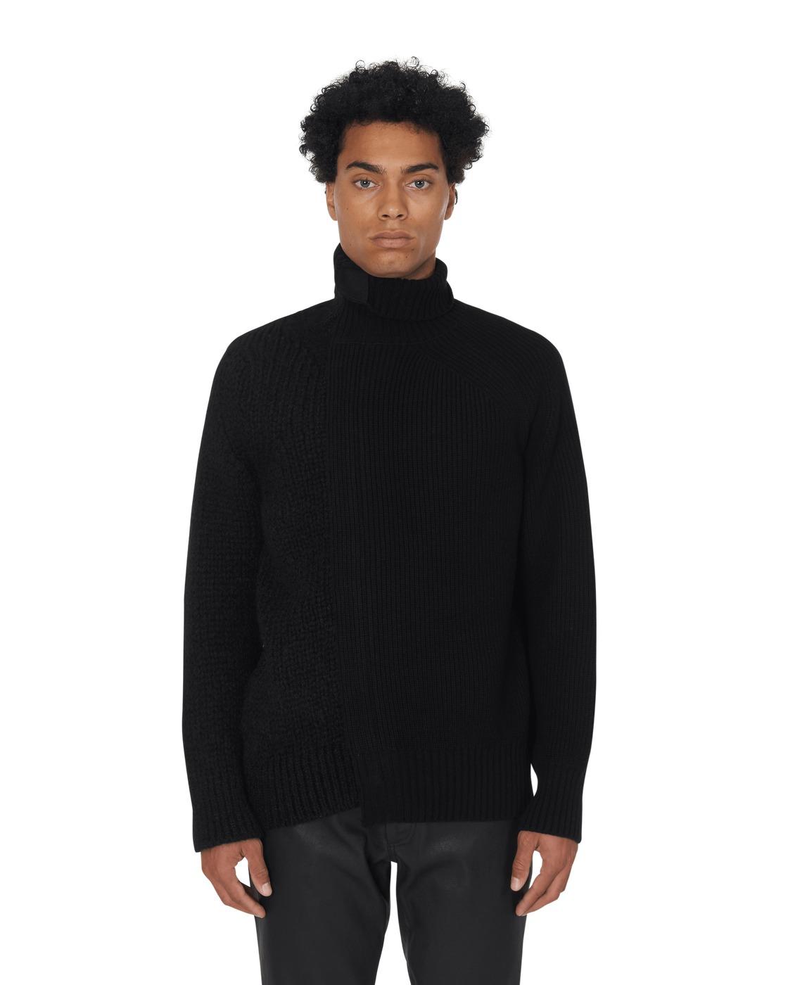 Sacai Wool Knit Black/Black