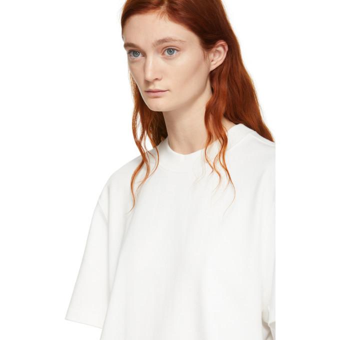 alexanderwang.t Off-White Oversized Wash and Go Puff Logo T-Shirt