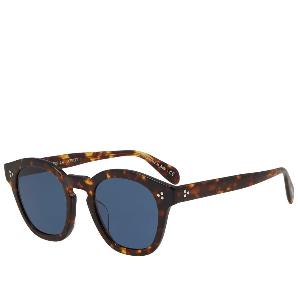 Oliver Peoples Boudreau L.A. Sunglasses Brown