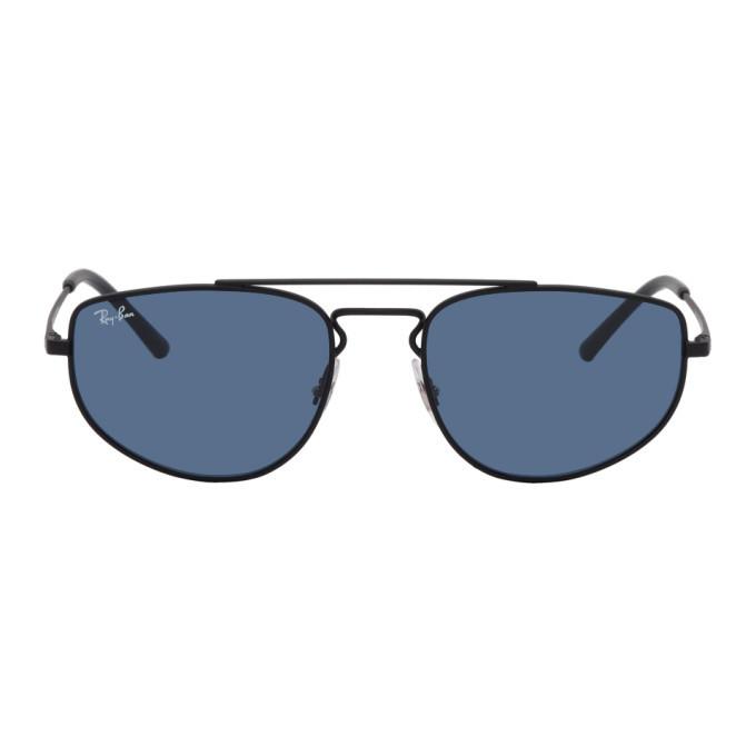 Photo: Ray-Ban Black Square Top Bar Sunglasses