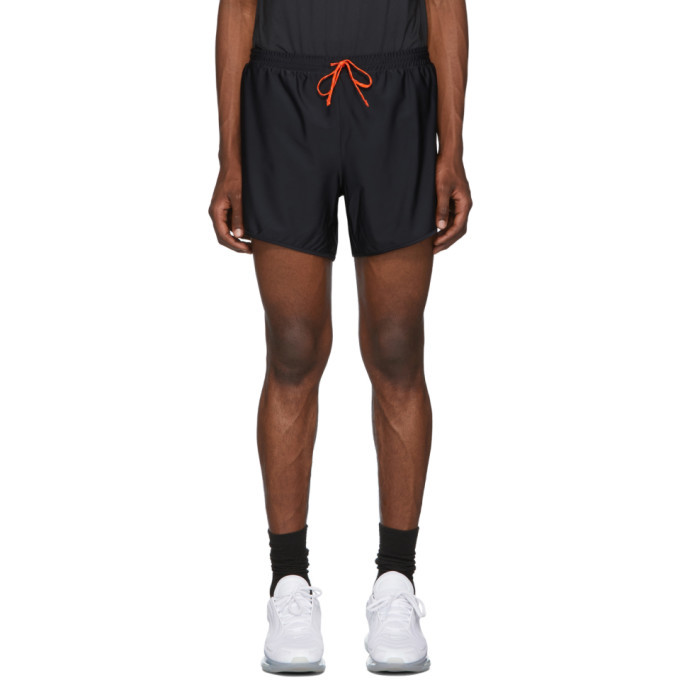 Photo: District Vision Black Track Shorts