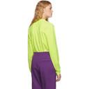 Martine Rose Yellow Classic Long Sleeve T-Shirt