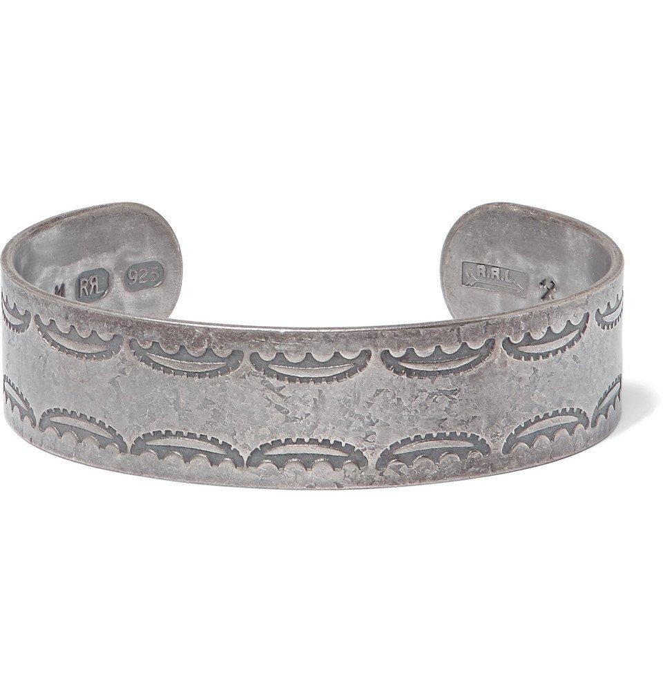 RRL - Sterling Silver Cuff - Men - Silver