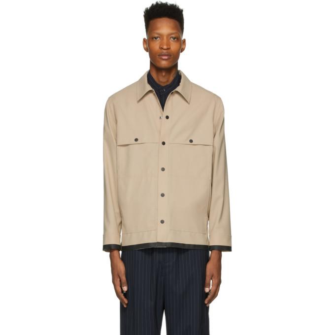 Photo: 3.1 Phillip Lim Beige Wool Workman Jacket