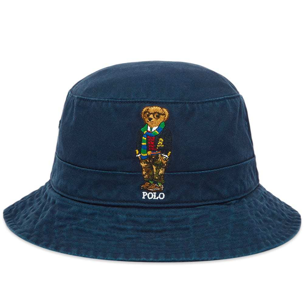 Photo: Polo Ralph Lauren Bear Embroidered Bucket Hat