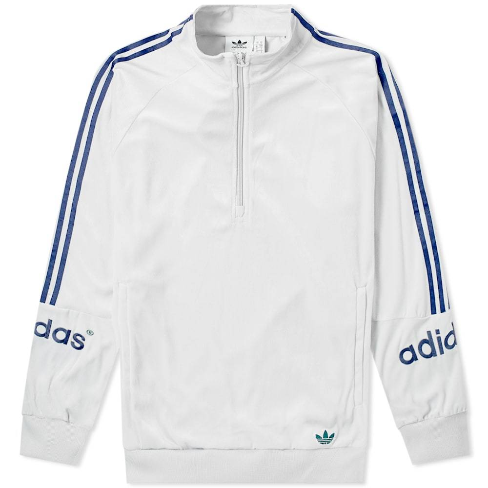 Photo: Adidas 90's Archive Velour Half Zip