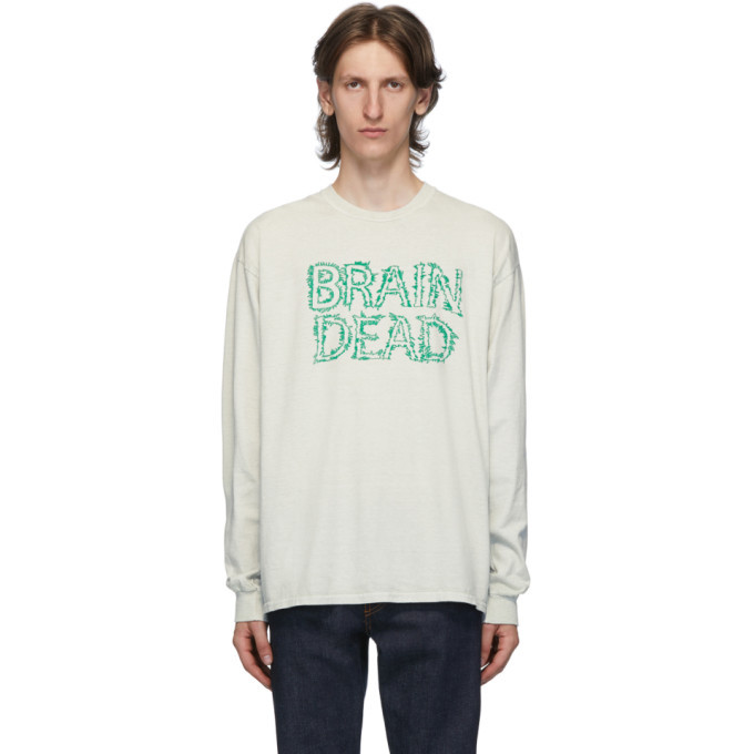 Photo: Brain Dead Grey Gooey T-Shirt