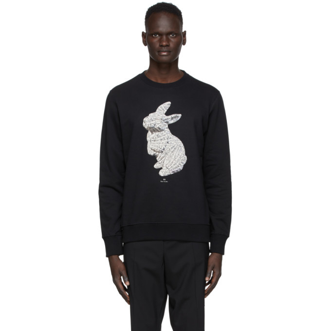 Photo: PS by Paul Smith Black Bones Sweatshirt