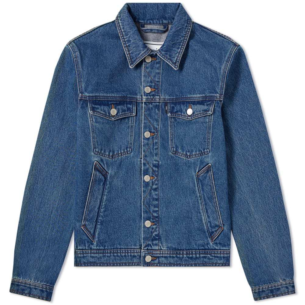 Photo: AMI Denim Jacket Washed Blue