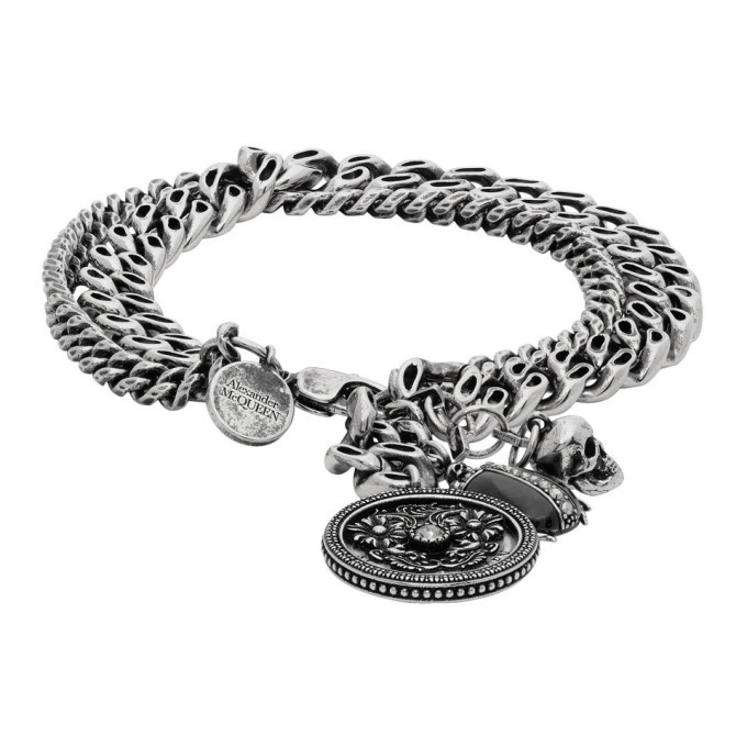 Photo: Alexander McQueen Silver Beetle Bracelet