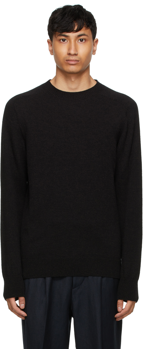 Photo: Margaret Howell Brown Cashmere Saddle Sweater