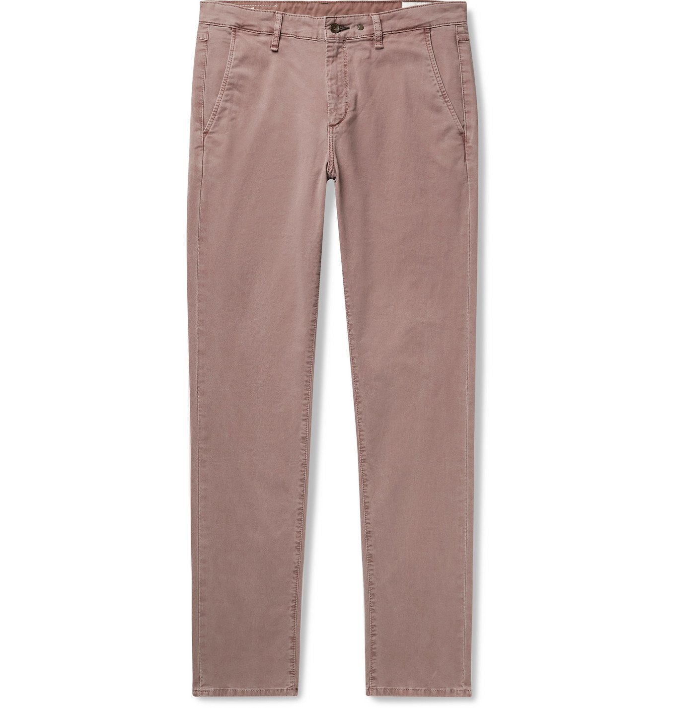 Photo: RAG & BONE - Fit 2 Slim-Fit Supima Cotton-Blend Twill Chinos - Brown