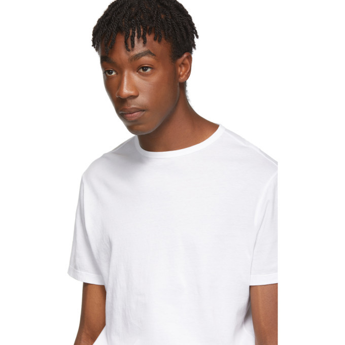 Officine Generale White Pigment-Dyed T-Shirt