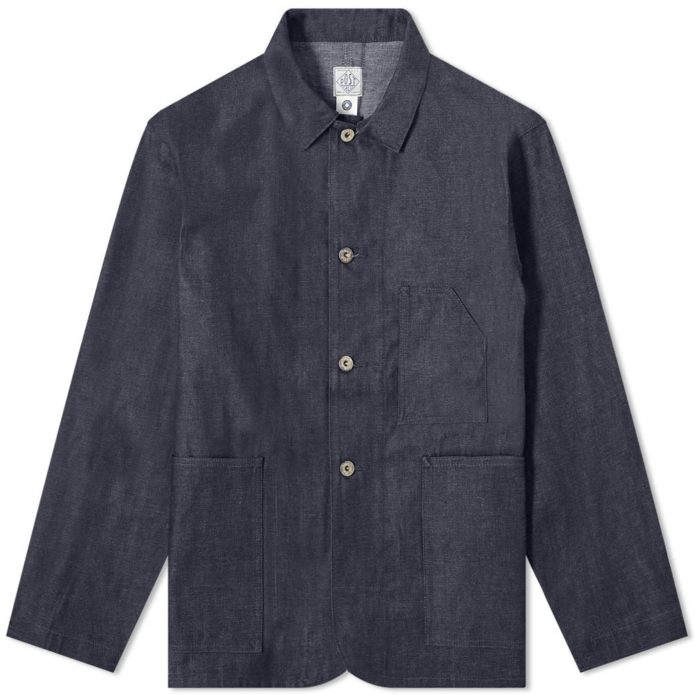 Photo: Post Overalls Denim Pocket Jacket
