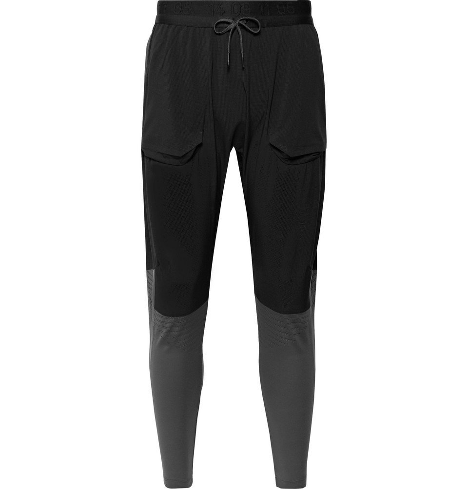 Photo: Nike Running - Tech Pack Ripstop and Mesh Tights - Black