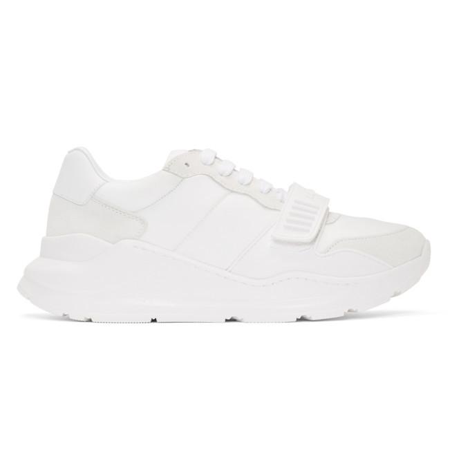 Photo: Burberry White Regis Sneakers