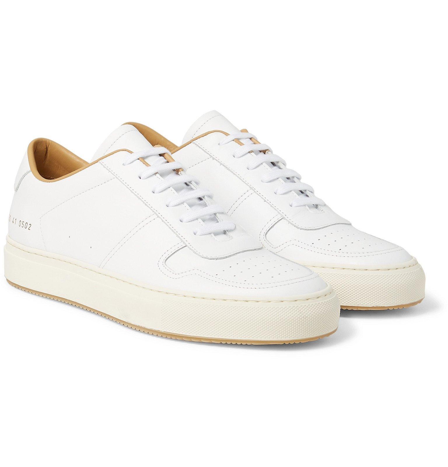 Photo: Common Projects - BBall 88 Leather Sneakers - White