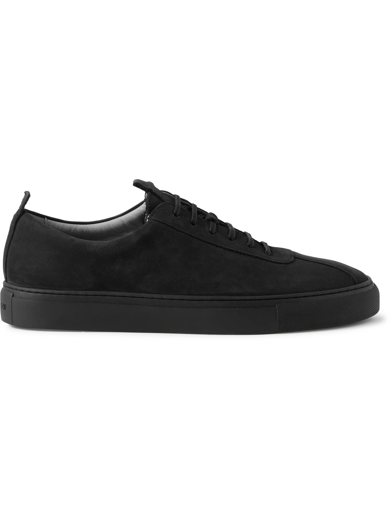 Photo: GRENSON - Nubuck Sneakers - Black