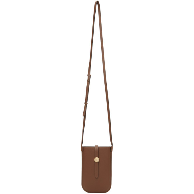 Photo: Burberry Brown Grainy Anne Phone Pouch