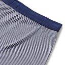 Schiesser - Karl Heinz Striped Cotton-Jersey Boxer Briefs - Blue