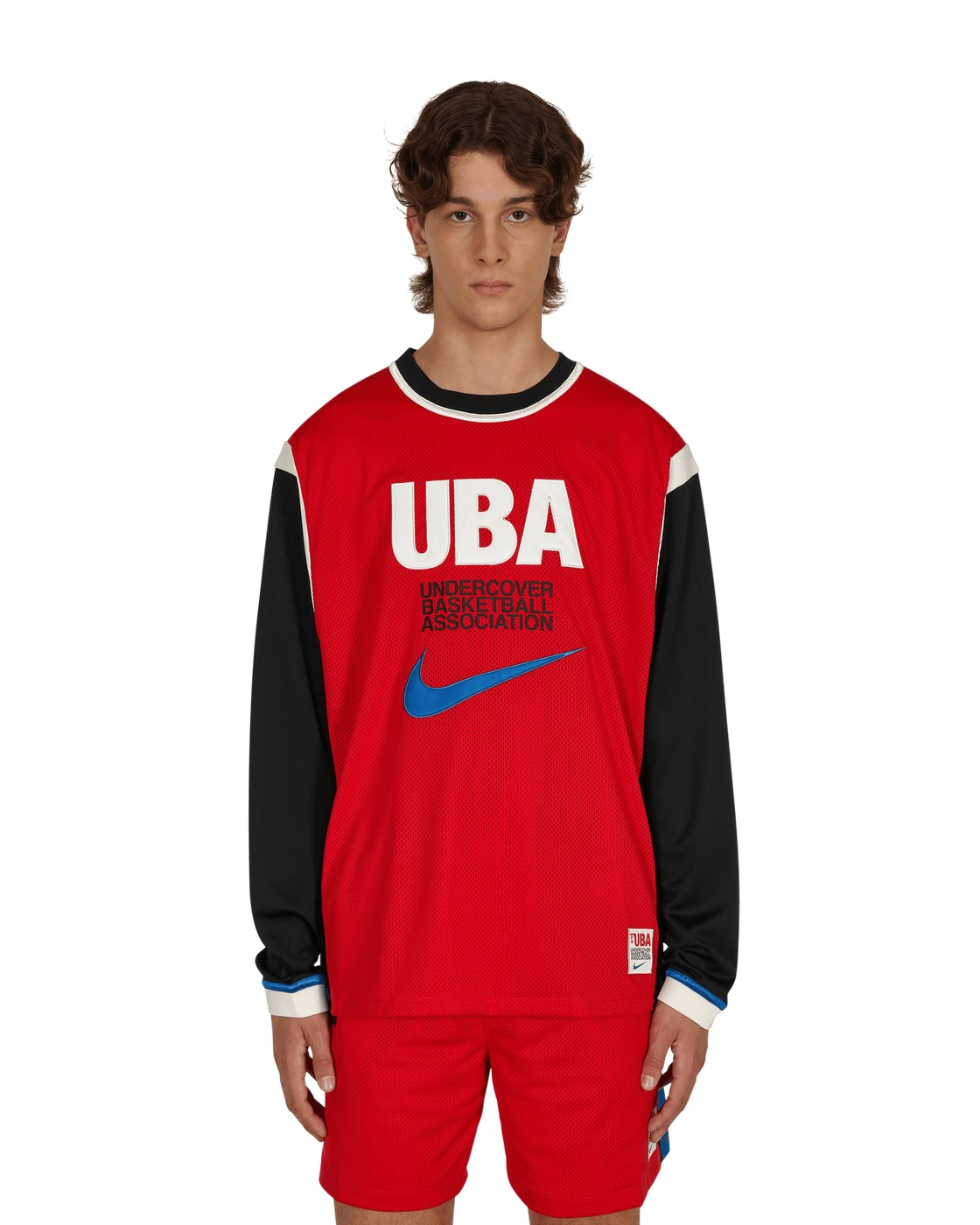 Photo: Nike Special Project Undercover Long Sleeve Mesh Shooting Top University Red/Battle Blue