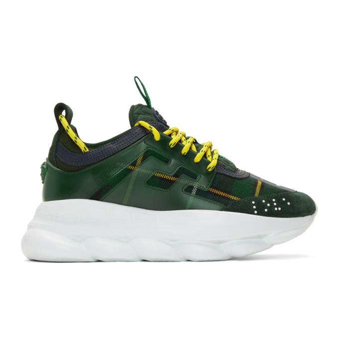 yellow versace sneakers