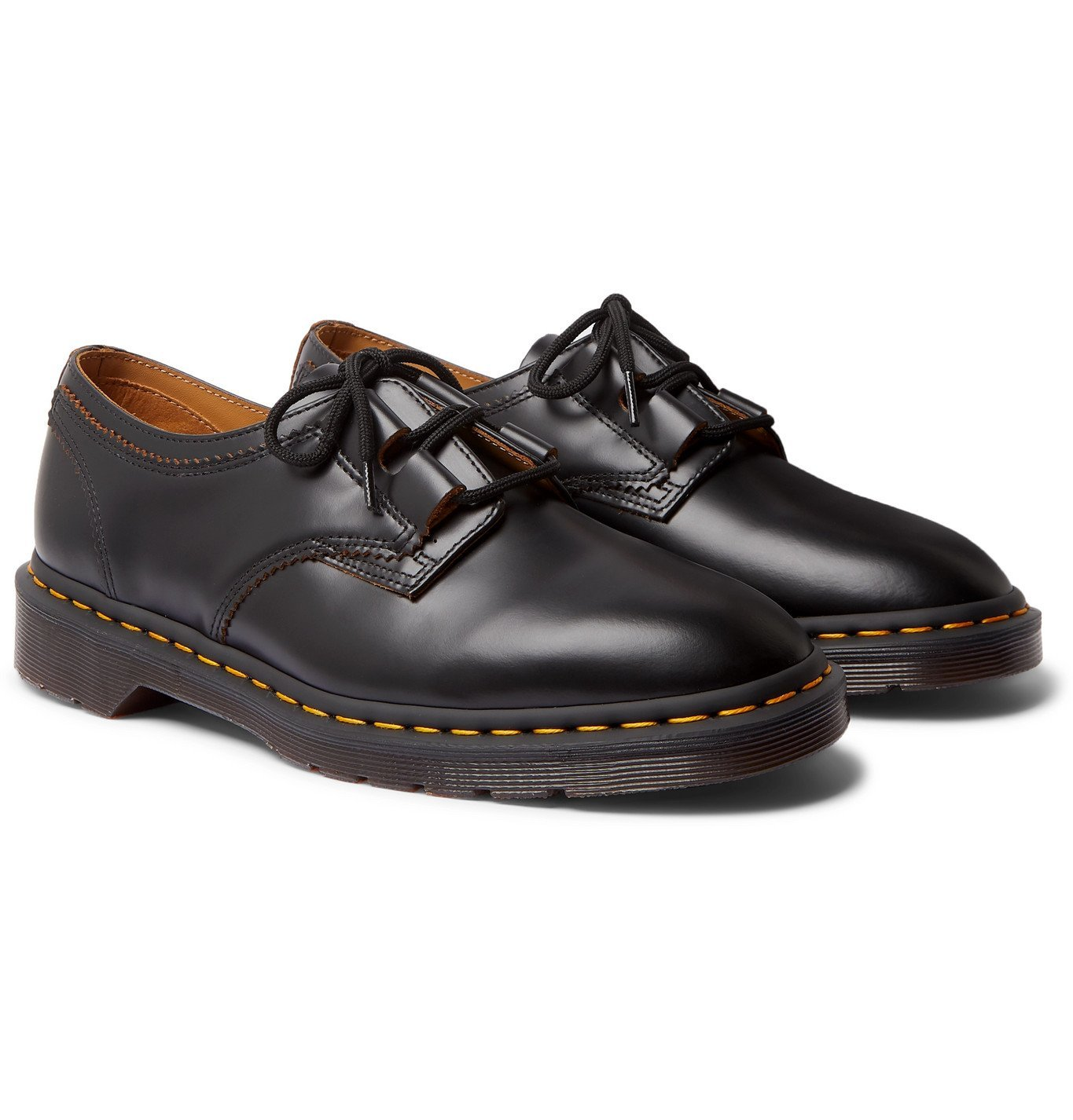 Photo: Dr. Martens - 1461 Ghillie Leather Derby Shoes - Black