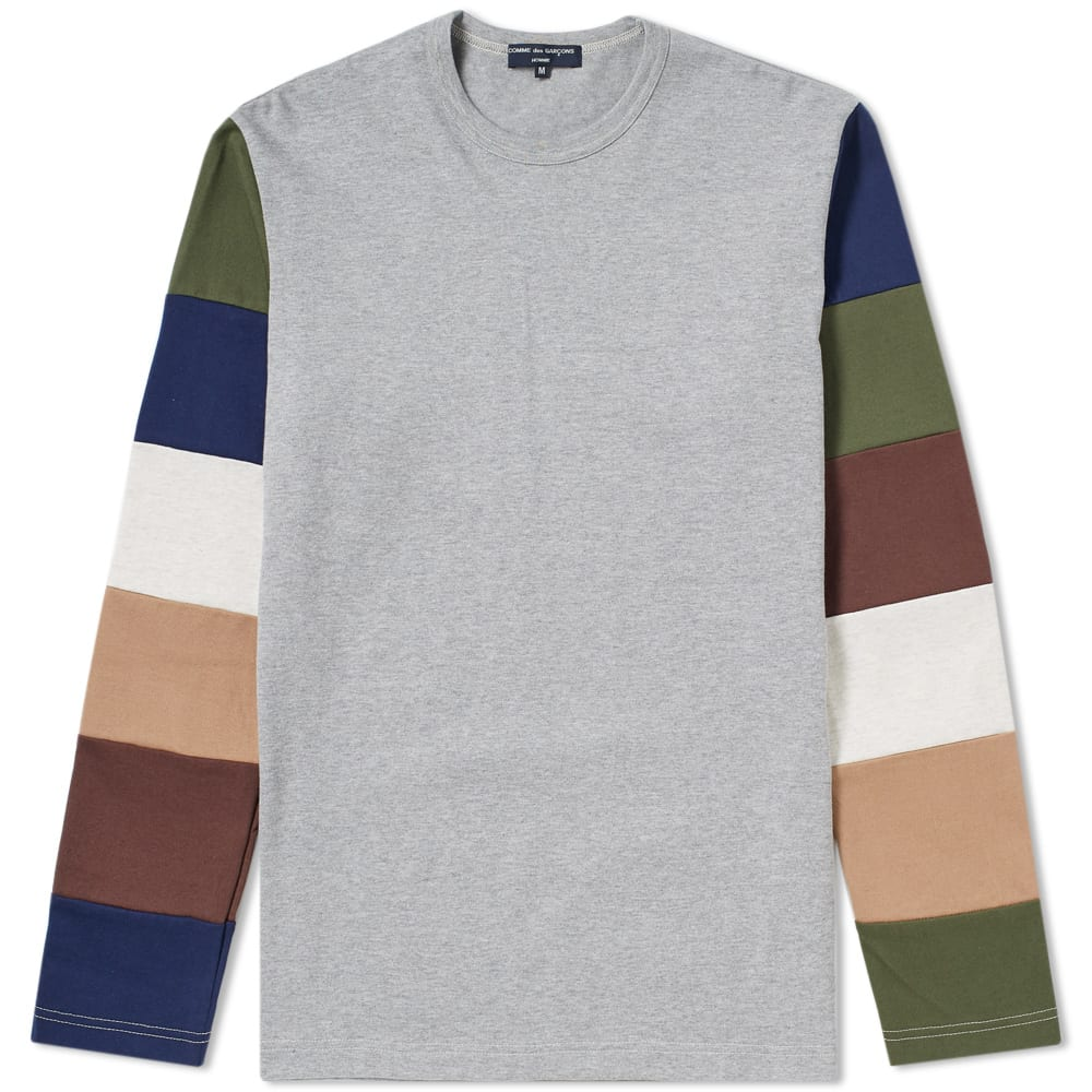 Photo: Comme des Garcons Homme Long Sleeve Stripe Tee
