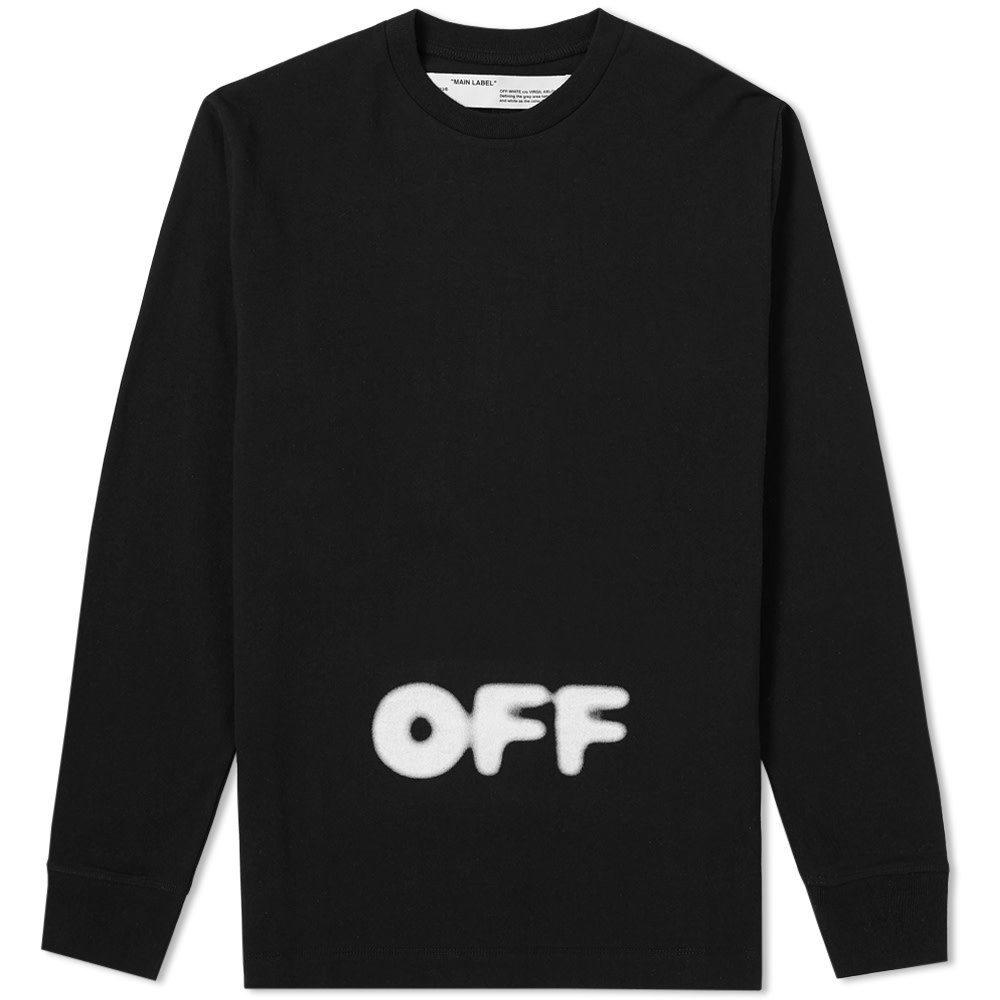 Photo: Off-White Long Sleeve Kidmograph Tee