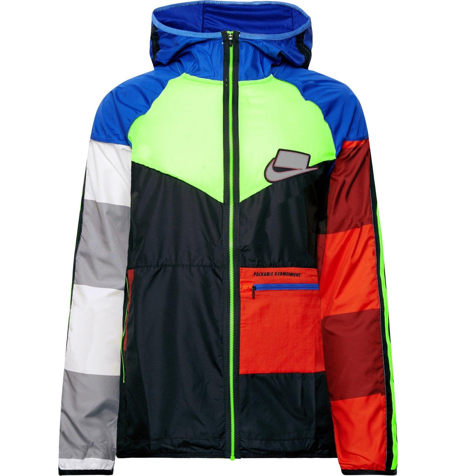 Photo: Nike Running - Wild Run Windrunner Packable Ripstop and Shell Jacket - Multi