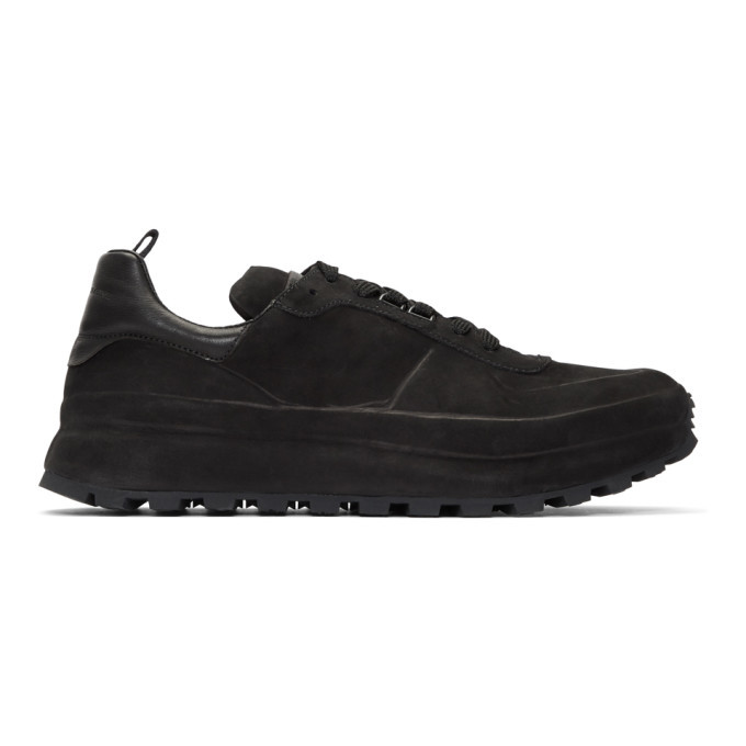 Photo: Officine Creative Black Frontiere 1 Sneakers