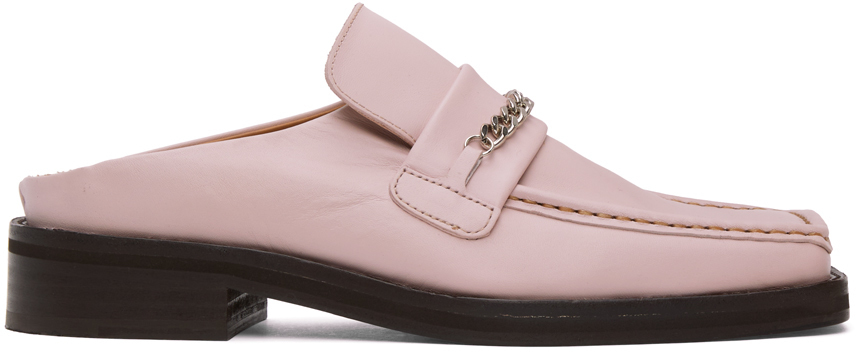 Photo: Martine Rose Pink Loafer Mules