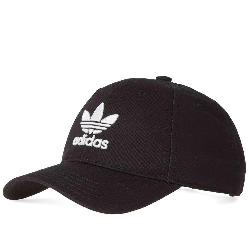 Adidas Trefoil Cap Black