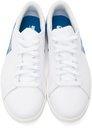 Nike Jordan White & Blue Air Jordan 1 Centre Court Sneakers