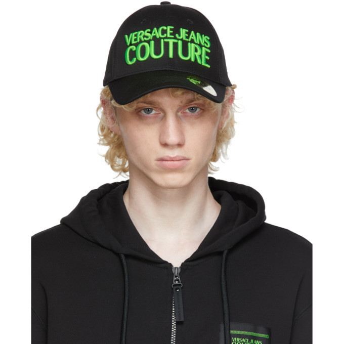 Photo: Versace Jeans Couture Black Logo Cap