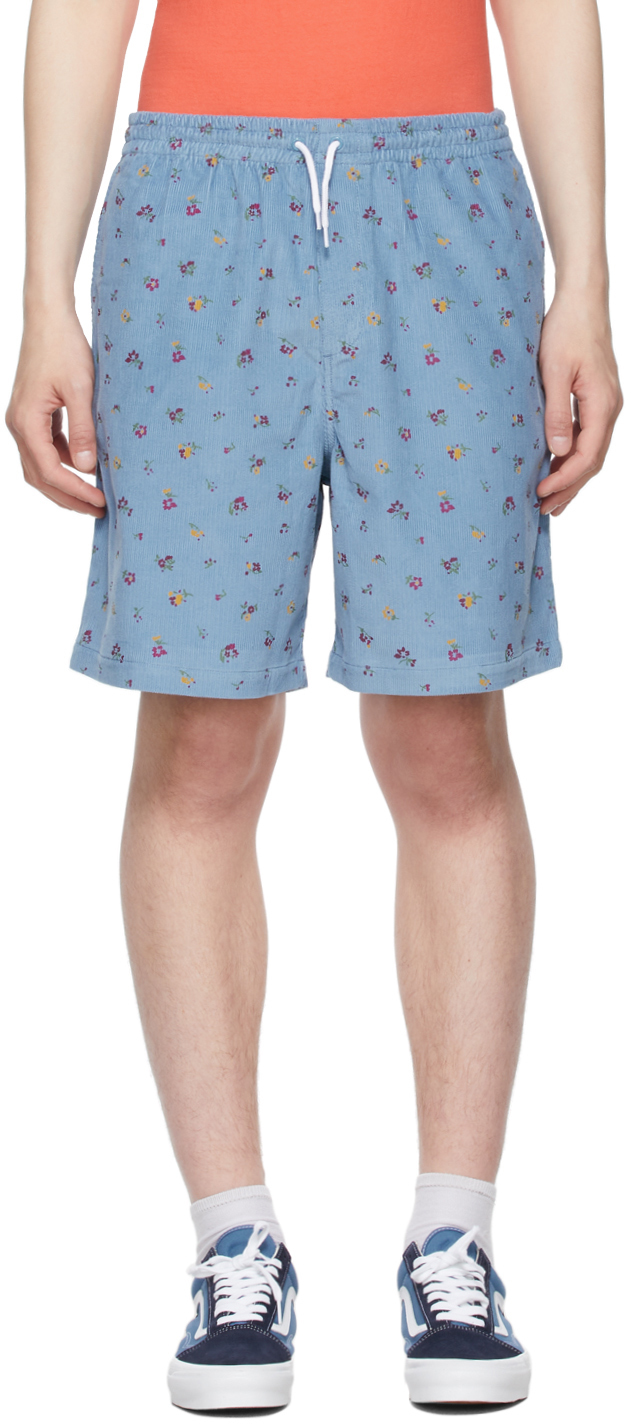 Photo: Noah Blue Corduroy Drawstring Short