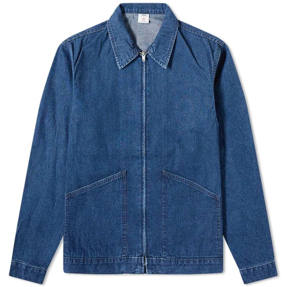 Edwin Made In Japan Denim Zip Jacket